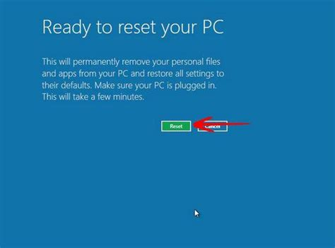 reseter mg2570 win7 tutorial reset windows 8 back to factory default
