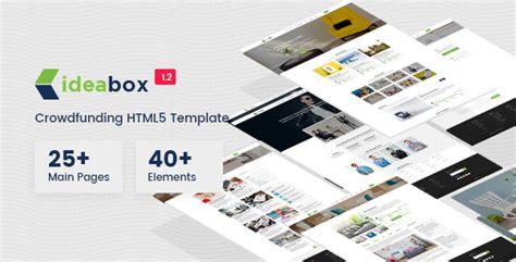 themeforest kickstart ideabox crowdfunding html5 responsive template by