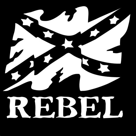 rebel flag truck van window vinyl decal sticker graphics