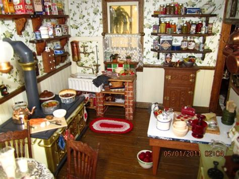 doll house kitchen my victorian dollhouse kitchen dollhouse kitchens pinterest