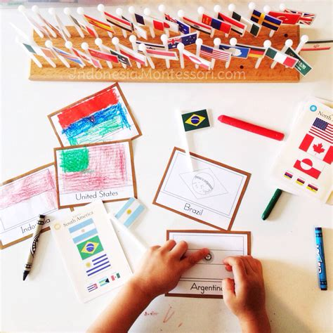 printable montessori indonesia our sumpah pemuda activity at home indonesiamontessori