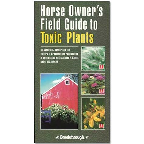 horse books horse gifts equestrian books horse owner s field guide to toxic plants