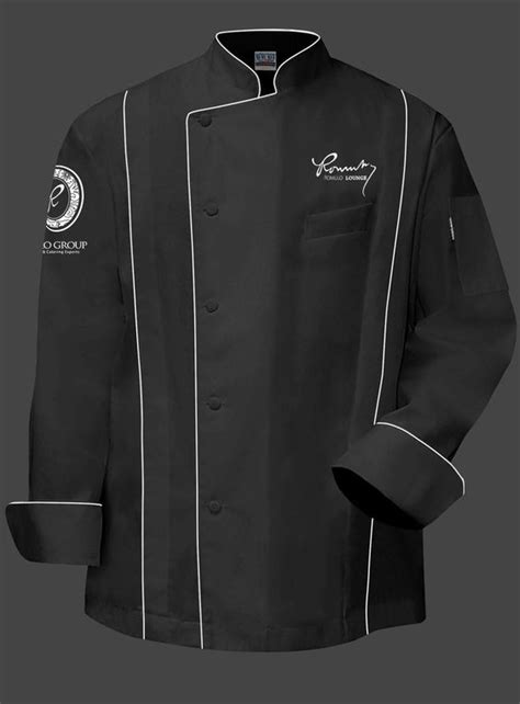Design Jacket Chef | romulo chef jacket black does anybody no where i can get