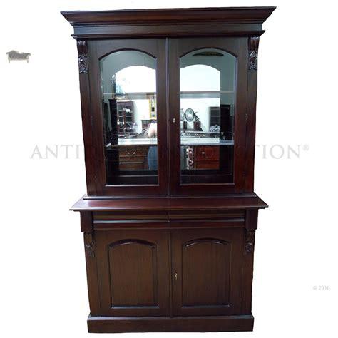 Antique Display Cabinet by Bookcase 2 Door Display Cabinet Antique