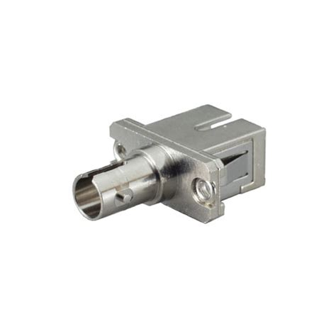 Adapter Fiber Optic Sc sc to st hybrid adapter to