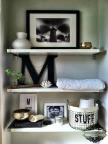 bathroom shelf decorating ideas bathroom shelves decor viewing gallery
