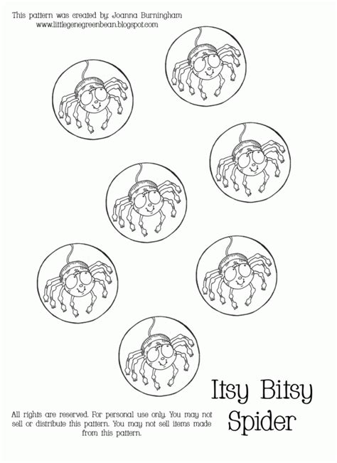 Coloring Page Itsy Bitsy Spider by Itsy Bitsy Spider Coloring Page Coloring Home