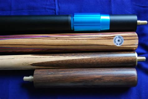 Handmade Snooker Cues For Sale - handmade 4 ash snooker pool cue set with rosewood