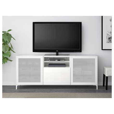 ikea besta tv mount best 197 tv bench with drawers white selsviken high gloss