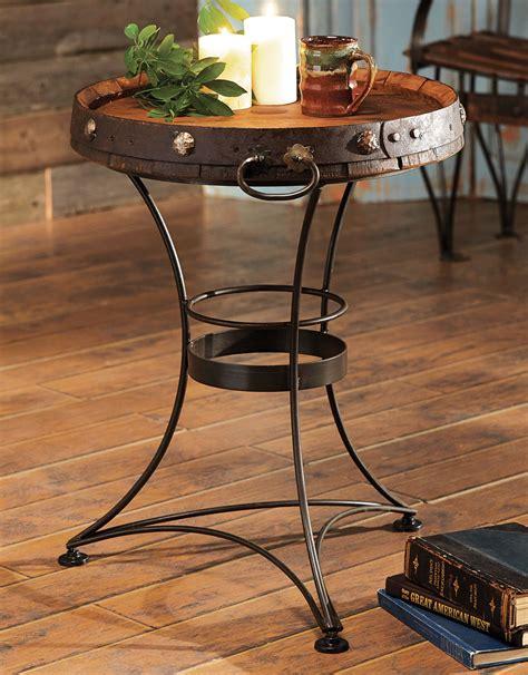 western furniture tequila barrel  tablelone star