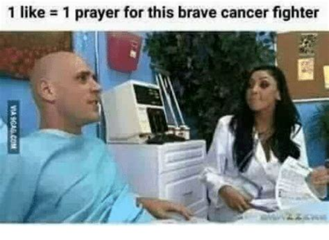 1 Like 1 Prayer Meme - 1 like 1 prayer for this brave cancer fighter meme on