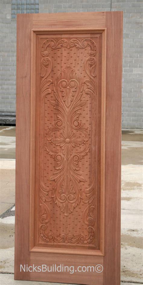 Carved Wood Doors by Carved Mahogany Doors Carved Mahogany Doors