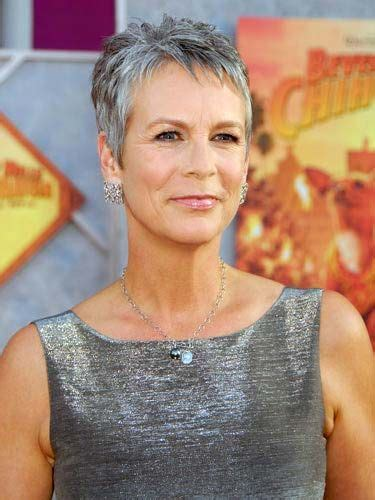 haircuts that compliment grey 17 best images about jamie lee curtis on pinterest lee