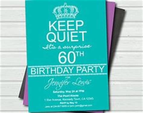 60th birthday invitation templates free 1000 images about invites on