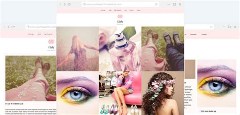 themes girly girly blogging and magazine wp theme anariel design