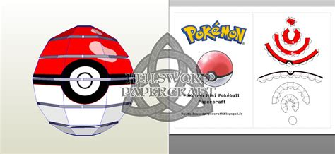 Papercraft Pokeball - papercraft pokeball images images