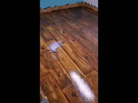 Paint Faux Wood Floors Over Concrete: under 60 seconds