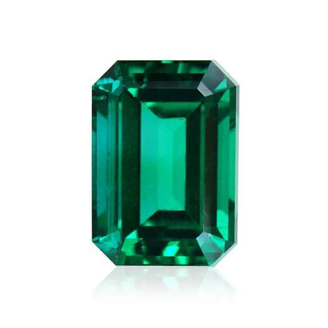 1.75 carat, Green, ZAMBIAN Emerald, Emerald Shape, No Oil