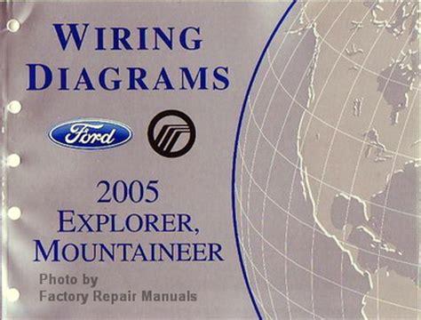 1998 ford explorer wiring diagrams online repair manuals 2003 ford mustang wiring diagrams 2005 ford explorer and mercury mountaineer electrical wiring diagrams manual factory repair