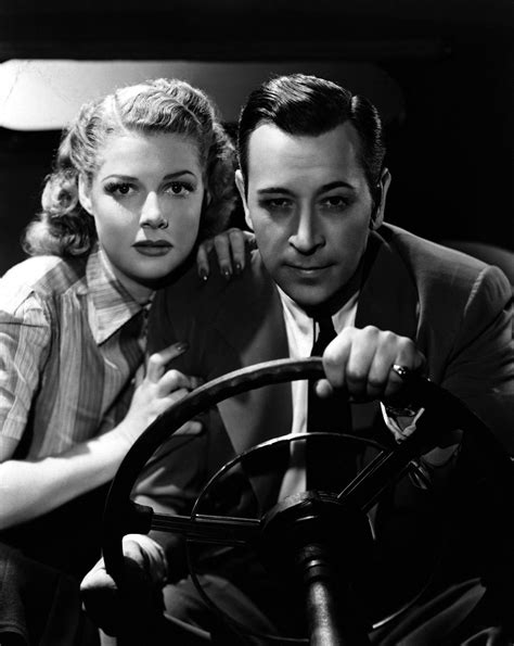 actor george of they drive by night ann sheridan and george raft in they drive by night 1940