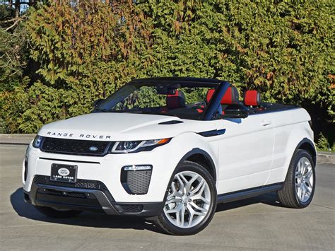 land rover convertible interior 2017 range rover evoque convertible road test review