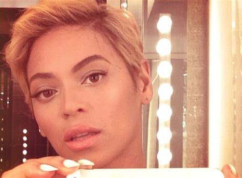 beyonce debuts super short haircut