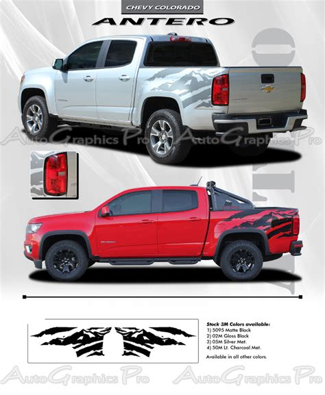 truck decals 2015 2016 2017 2018 chevy colorado truck bed stripes