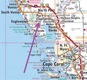 where is port florida on map port the florida memory