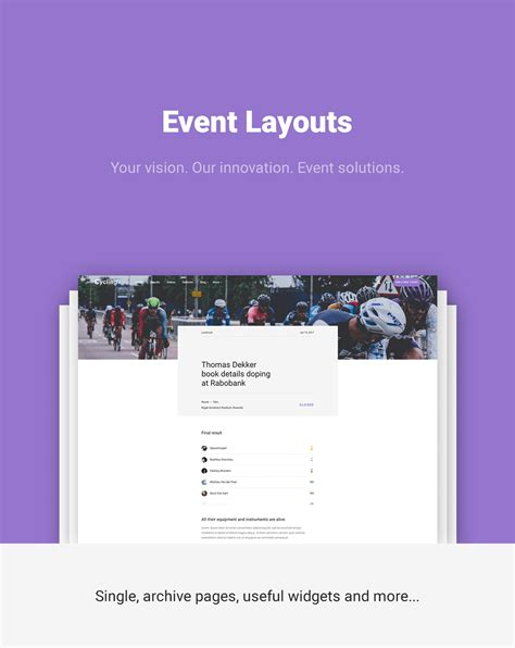 themeforest event cycling event blog html template download nulled rip
