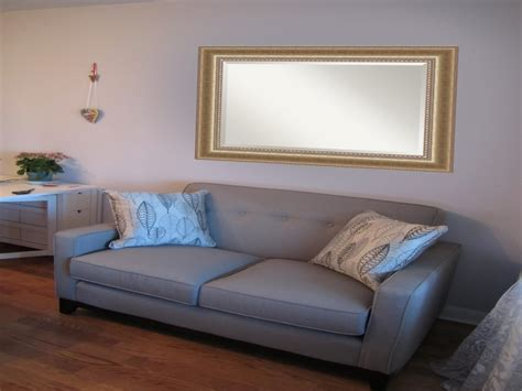 sofa mirror the wall decor mirror