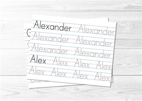 personalized name tracing printable all worksheets 187 custom name tracing worksheets for