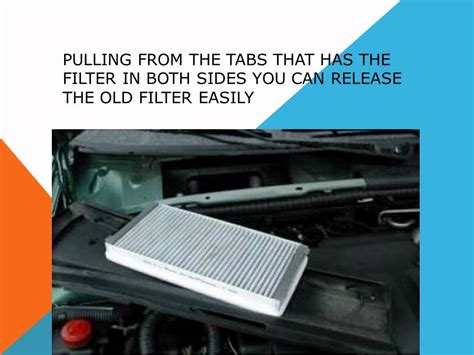 How To Replace A Cabin Air Filter by How To Replace The Air Cabin Filter Dust Pollen Filter On