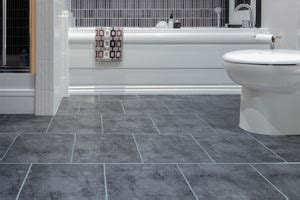 cushioned bathroom flooring vinyl