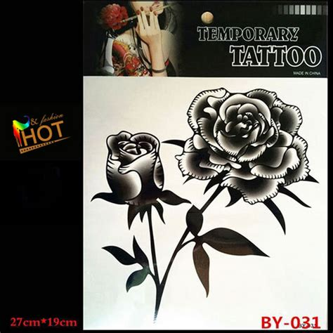 popular rose tattoo designs buy cheap rose tattoo designs