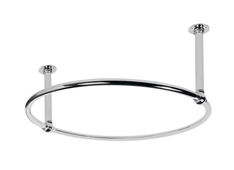 Round Shower Rod: Signature Hardware for Any Shower
