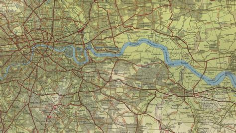 Thames River On A Map | river thames map