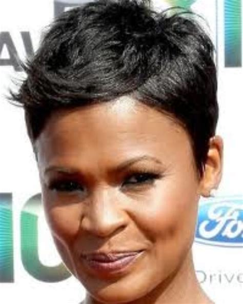 how to style hair like nia long nia hair nia long short pixie cut pixie cuts pinterest