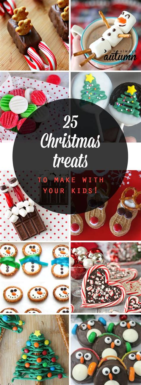 25 adorable christmas treats to make with your kids food curation