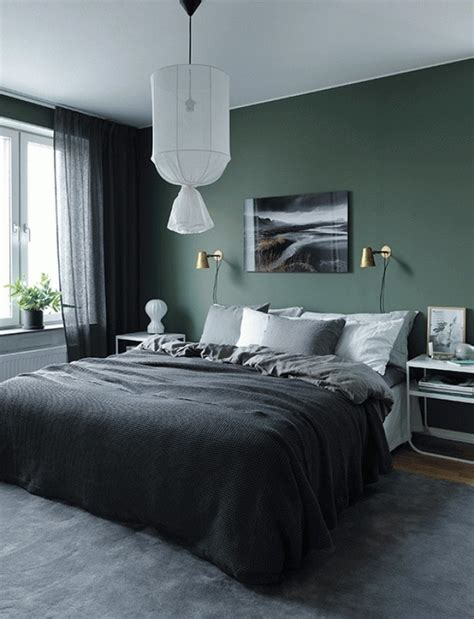 grey and green bedroom trendy color schemes for master bedroom room decor ideas