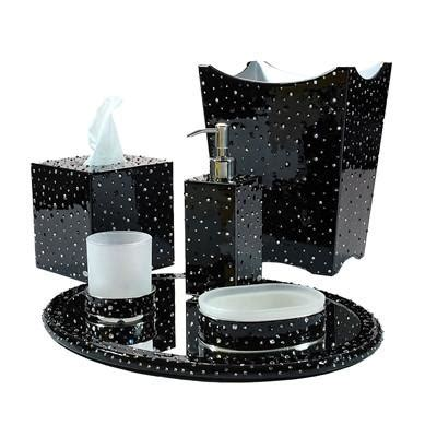 Black And Silver Bathroom Accessories Accessories Black Bathroom Accessories Black