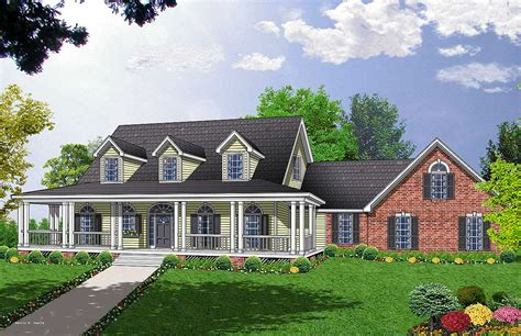 Traditional House Plans With Porches by Traditional House Plans With Porches 28 Images