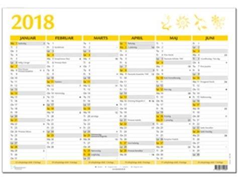 Kalender 2018 Helligdage A4 V 230 Gkalender 2018