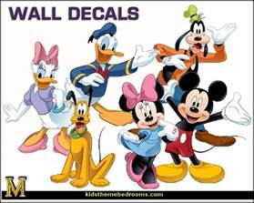 Wall Mural Childrens Bedroom decorating theme bedrooms maries manor mickey mouse