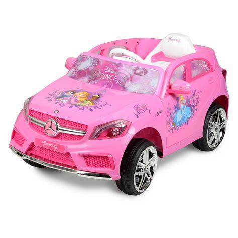 pink toddler car disney mercedes 6 volt ride on toddler princess pink