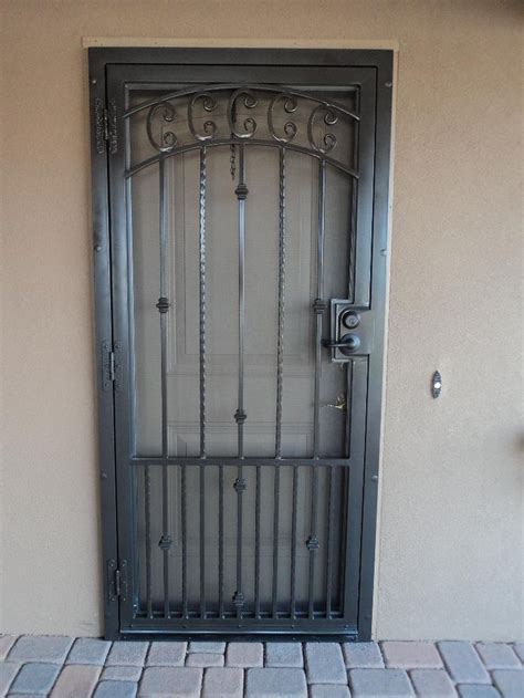 Security Front Doors How To Paint A Security Screen Door Http Www Ehow How 5486311 Paint Security Door Html