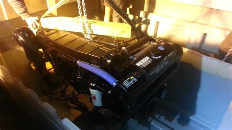 mercruiser d 4 2 l diesel installation