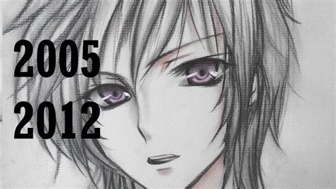 V Anime Drawing by My Drawings Since I Started To 2012