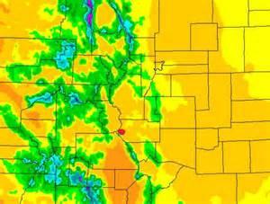colorado precipitation map colorado maps