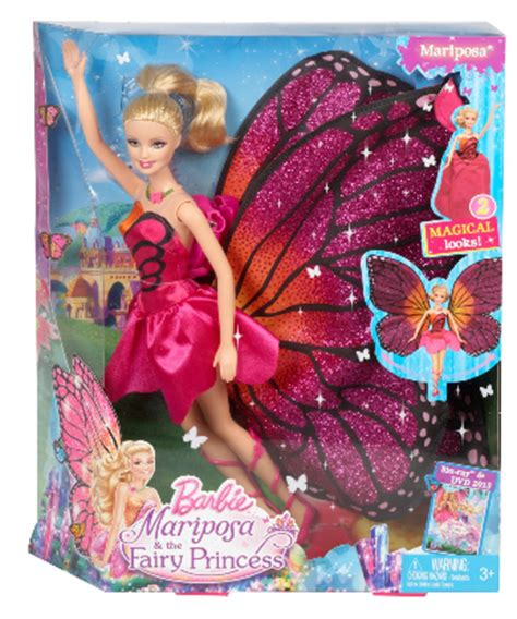 nonton barbie mariposa and the fairy princess 2013 film barbie mariposa and the fairy princess doll dvd review