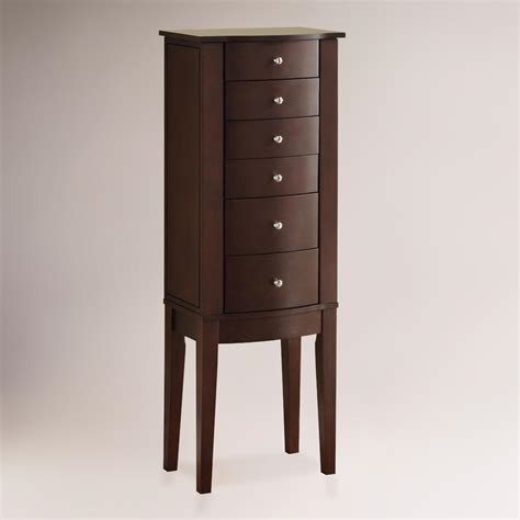 armoire jewelry bailey jewelry armoire world market